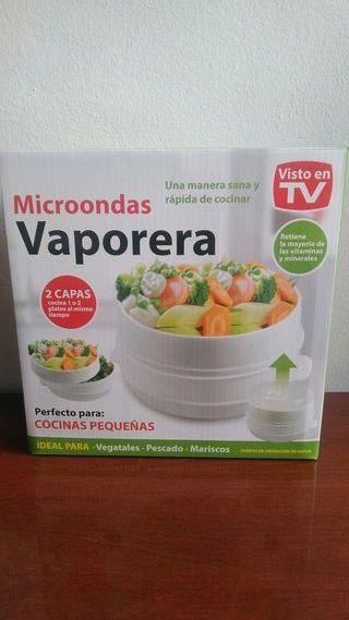 VAPORERA PARA MICROONDAS NUEVA.