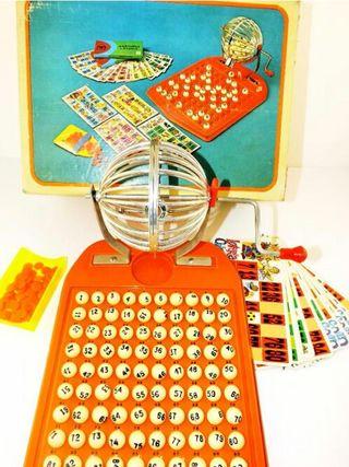 Bingo Lotería años 70.