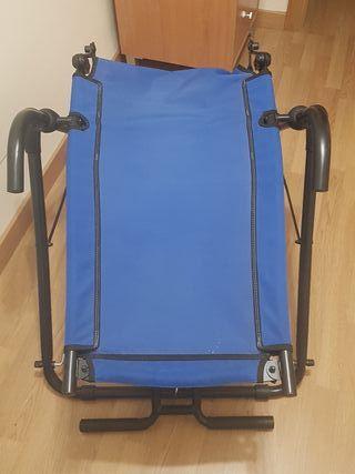 silla de entrenamiento