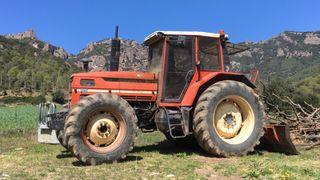 Tractor Same Laser 130 + cabrestante forestal