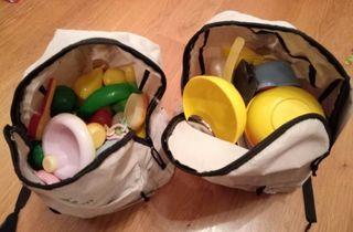Accesorios de juguetes variados