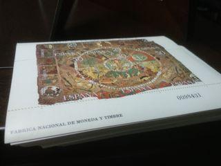Lote sellos Tapiz de la creación Gerona
