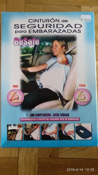 Cinturón de seguridad para embarazo
