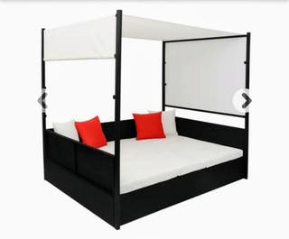 hamaca doble/tumbona/cama balinesa