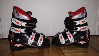 Botas esqui niño. Nórdica talla 30 31