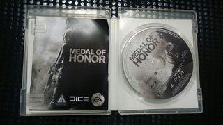 Medal of Honor PS3 2 juegos en 1