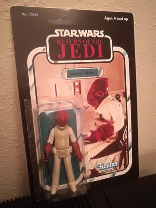 Star Wars ADMIRAL ACKBAR vintage en blister