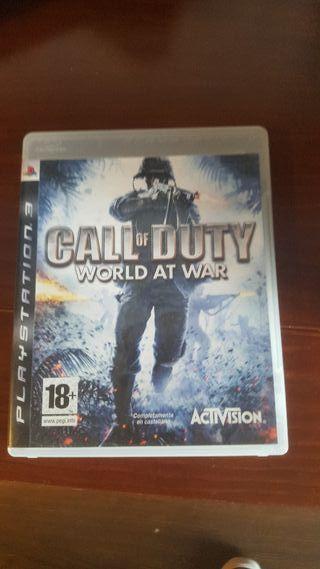 Call Of Duty - World at War PS3