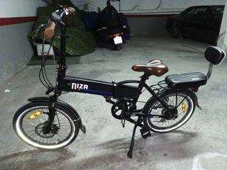 bicicleta eléctrica urban bike Niza