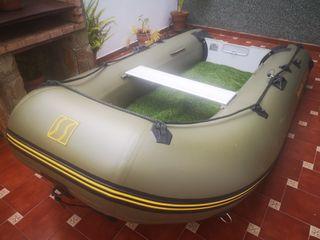 Barca neumatica y motor fueraborda 5cv
