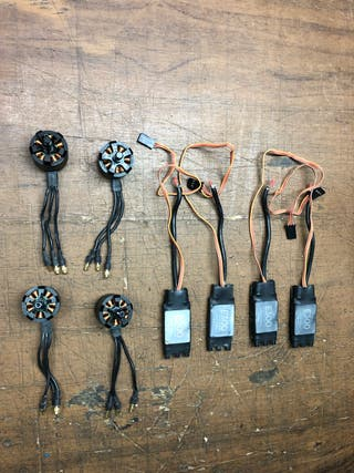 Kit motorización drones dji e300