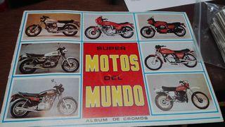 Album cromos motos 82