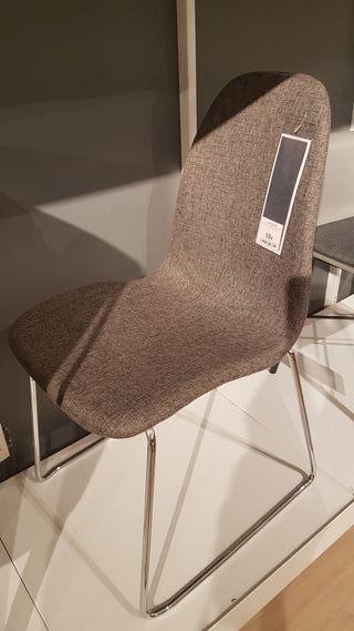 sillas de diseño del Corte inglés, muy nuevas