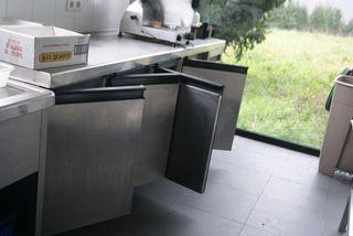 frigorifico acero inoxidable