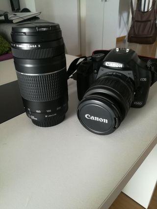 Camara reflex canon 450D