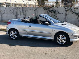 Peugeot 206cc descapotable año 2004