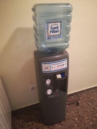 Dispensador de agua.