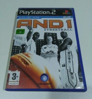 AND 1 STREETBALL Videojuego PS2.