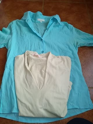 Camiseta y blusa
