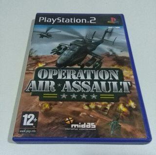 OPERATION AIR ASSAULT Videojuego PS2