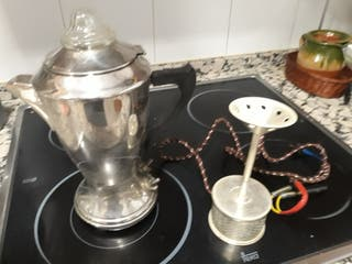 Cafetera eléctrica vintage