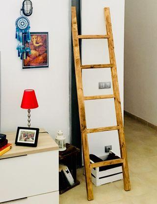 Escalera decorativa (nueva)estilo rustico actual