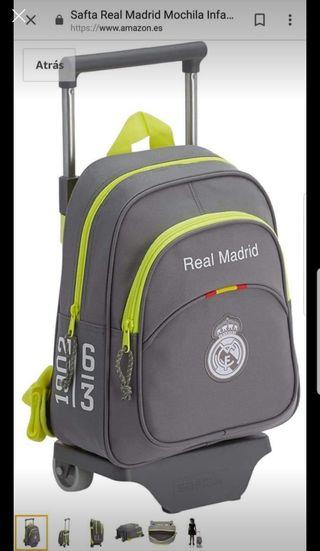 mochila del Real Madrid sin uso