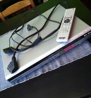 Reproductor y grabador SONY - 160GB de disco y DVD