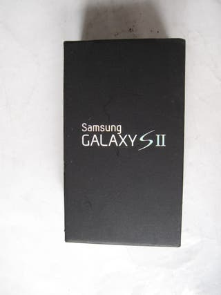 caja de un teléfono móvil Samsung Galaxy SII S II