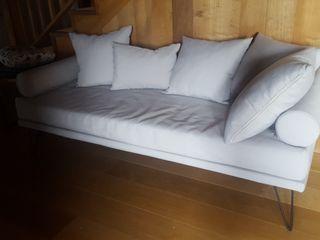 Sofa Banco gris claro
