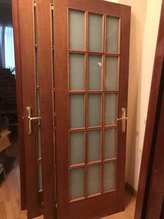Puertas hechas por ebanista