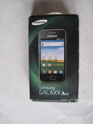 caja de un teléfono móvil Samsung Galaxy Ace