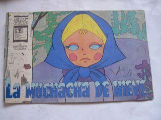 cuento la muchacha de nieve URSS 1983 Cuba Habana