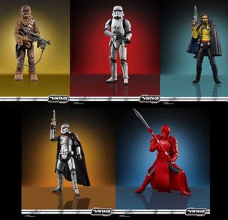 Star Wars Vintage Collection 5 figuras