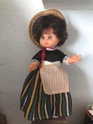 Muñeca vintage años 60