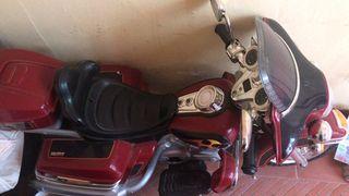 moto de batería poco uso.