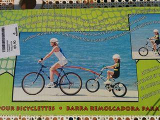 Barra remolcadora de bicicletes