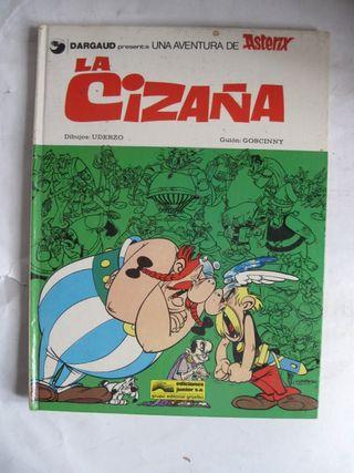 tebeo comic asterix la cizaña en tapa dura 1978