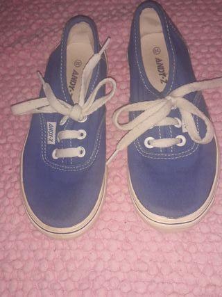 playeras azules