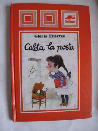 libro Gloria Fuertes Coleta, la Poeta Miñón 1982