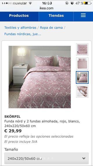 Pack 3 fundas nórdicas cama 140/150