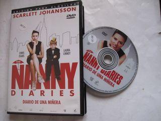 dvd diario de una niñera nanny diaries scarlett jo