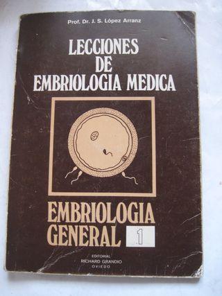 libro lecciones de embriología médica general 1