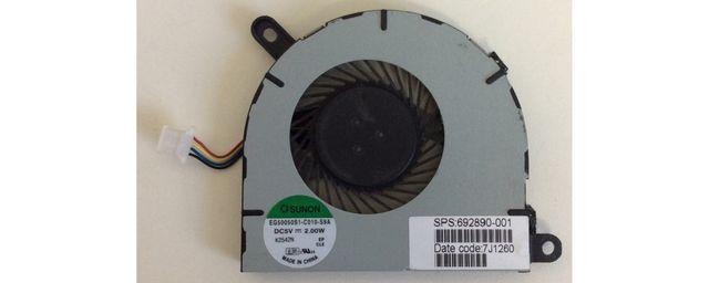 Ventilador SUNON para portátil HP ENVY SPECTRE XT