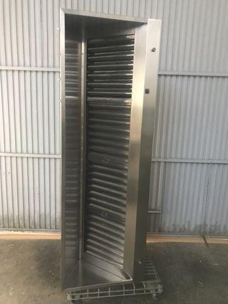 Campana extractora 4 filtros inoxidable