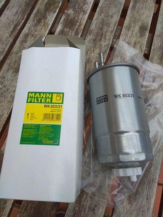 filtro gasoil. mann ref. WK 853/21
