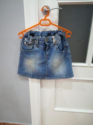 falda niña Zara