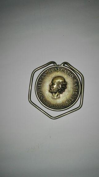 Moneda, medalla,porta billetes, vintage