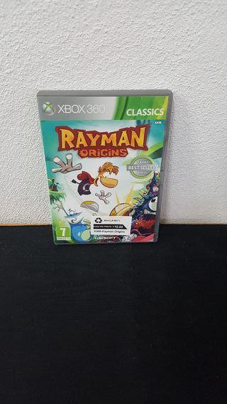 Juego Rayman Origins X360