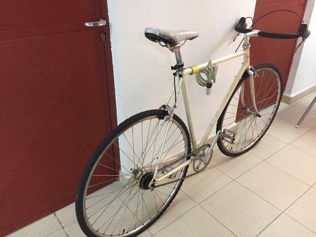 Bicicleta hibrida vintage , fixi